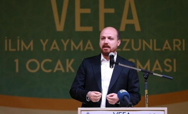 """Bilal Erdoğan: """"Artık ümmetin ayağa kalkmasının vakti geldi"""""""