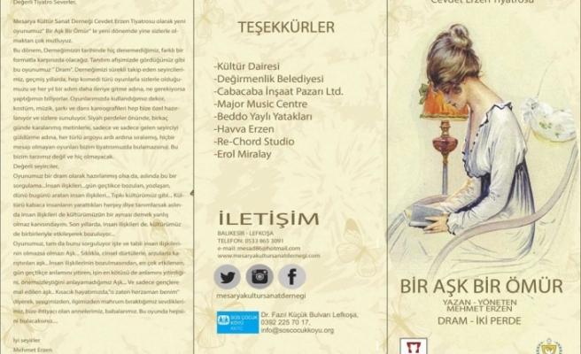 """""""Bir Aşk, Bir Ömür""""ü SOS Çocukköyü Derneği yararına sergileyecek"""