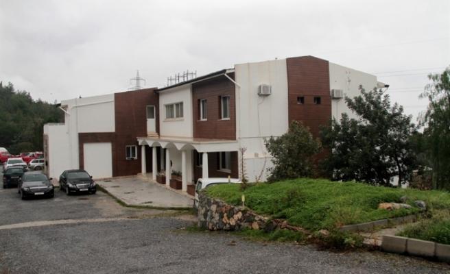 Çatalköy'de Orman Dairesi'ne ait tesis Sağlık Bakanlığı'na devredildi