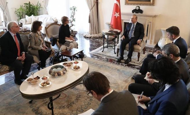 Çavuşoğlu BM Raportörüyle bir araya geldi