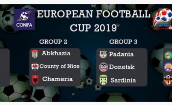 CONIFA Avrupa Kupası 2019'da KKTC yok