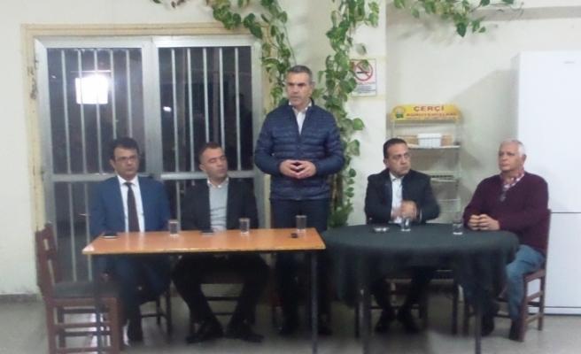 CTP'den Alaniçi'nde toplantı