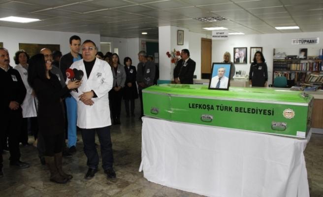 Dr. Öztekin Öztekiner'e son görev