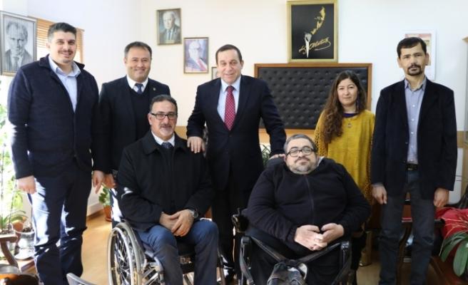 Engelli Hizmetleri Koordinasyon Kurulu heyetini kabul etti