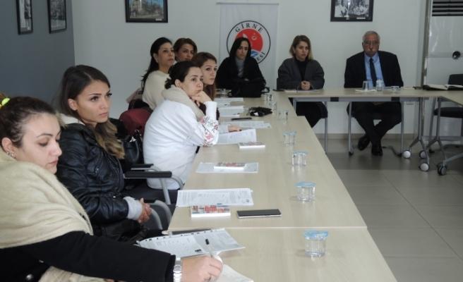 Girne Belediyesi Kadın Personeli Kıbrıs Kadın Sağlığı Araştırma İnisiyatifi'nin çalışmalar