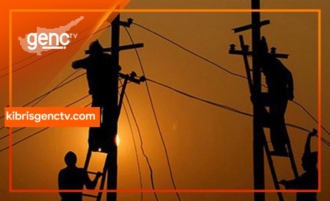 Girne'nin bazı bölgelerine elektrik verilemeyecek