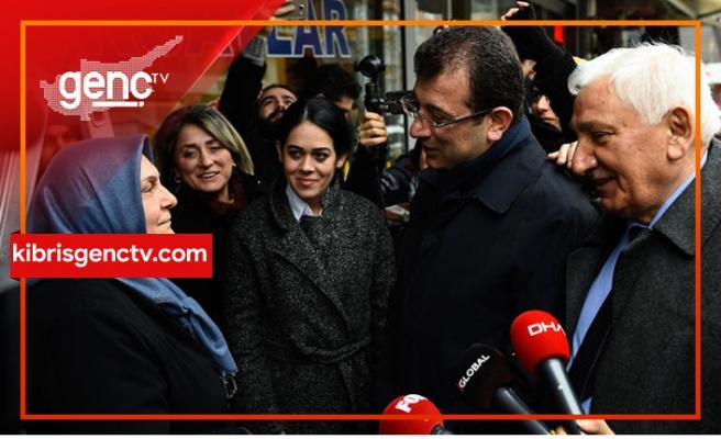 """İmamoğlu: """"Kıbrıs Anıtı hakkında Erdoğan'a yanlış bilgi verilmiş"""""""