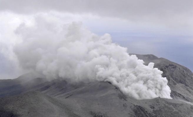 Japonya'da Shindake yanardağı patladı