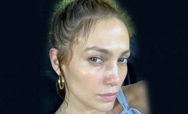 Jennifer Lopez'in makyajsız hali şaşkınlık yarattı