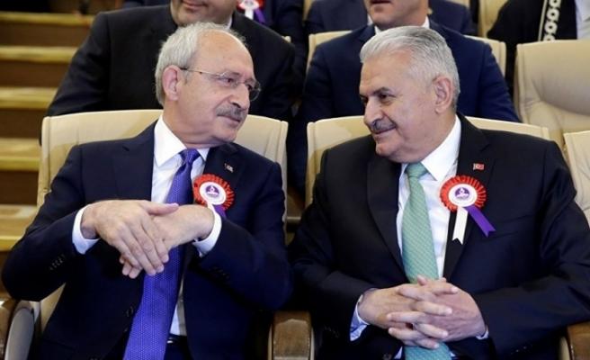 """Kılıçdaroğlu: """"Binali Yıldırım, korktuğu için istifa etmiyor"""""""