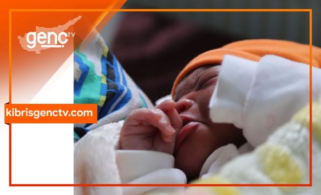 KKTC'de yılın ilk bebeği