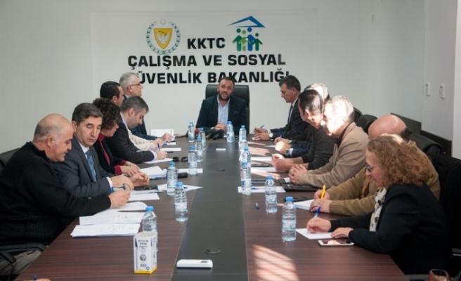 Komisyondan yılın ilk toplantısı