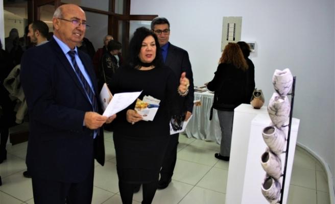 Kuzey Kıbrıs Seramikçiler Derneği X. Dernek Üyeleri Sergisi'nin açıldı