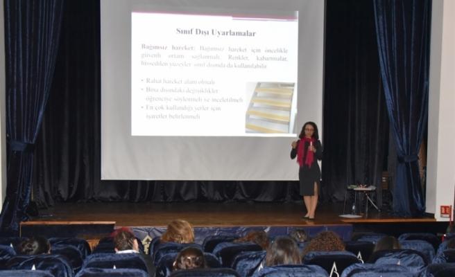 LTB Engellemeyen Lefkoşa birimi görme engelli çocukların eğitimiyle ilgili seminer düzenledi