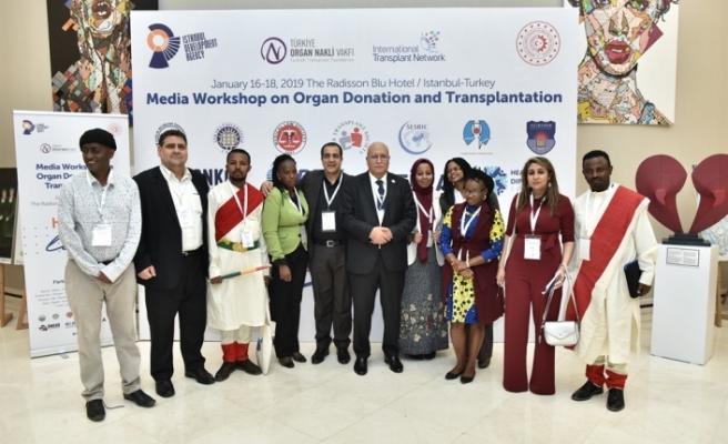 """Organ Bağışı ve Organ Nakli Uluslararası Medya Çalıştayı"""