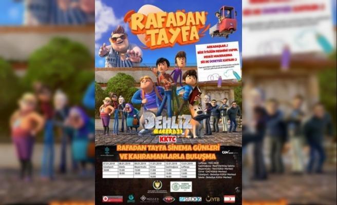 """""""Rafadan Tayfa"""" çizgi filmi KKTC'de"""