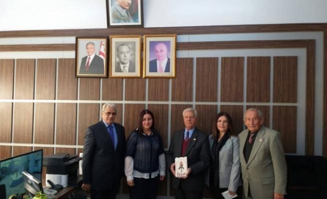 Sedat Simavi Endüstri Meslek Lisesi öğrenci ve öğretmenlerine teşekkür belgesi