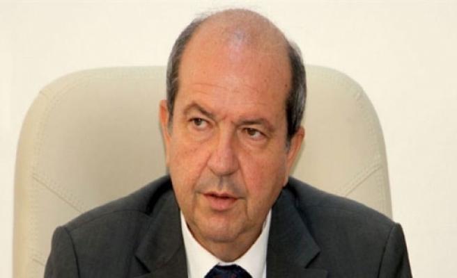 """Tatar: """"İki devletli çözümü görüşmek istediğimizi BM'ye bildirmeliyiz"""""""