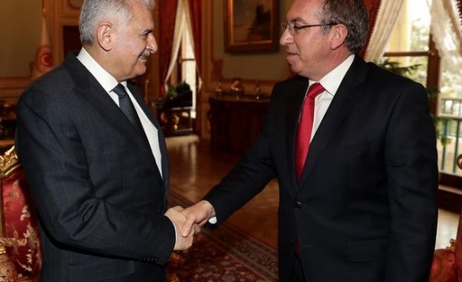 TBMM Başkanı Yıldırım Ankara Büyükelçisi Köprülü'yü kabul etti