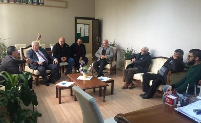 TKP-YG'den Çanakkale Ortaokulu'na ziyaret
