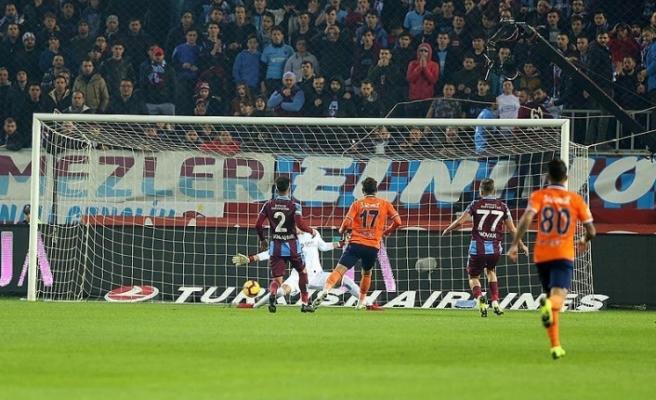 Trabzonspor-Başakşehir maçında 6 gol