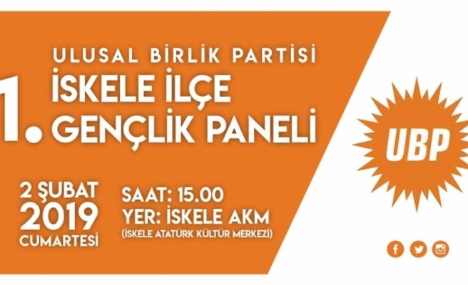 """""""Ulusal Birlik Partisi 1. İskele İlçe Gençlik Paneli"""", cumartesi yapılacak"""