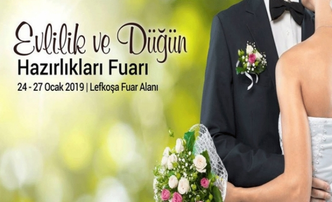 """Wedding Cyprus 2019 - 9. Evlilik ve Düğün Hazırlıkları Fuarı"""", yarın başlıyor"""