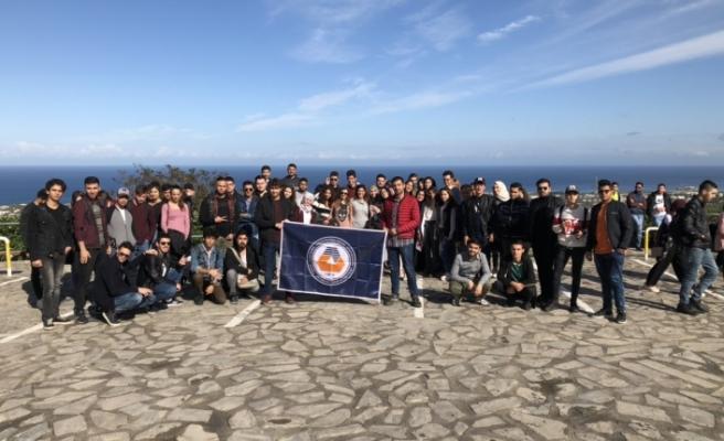 Yabancı Diller ve İngilizce Hazırlık Okulu öğrencileri Girne'yi tanıdı