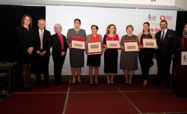 Yılın Kadın Girişimcileri Ödül Töreni'nde 6 başarılı kadın girişimci ödüllendirildi