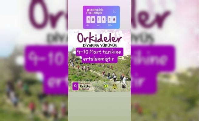 """9. Geleneksel Hisarköy Orkide Festivali"", 9-10 Mart tarihlerine ertelendi"
