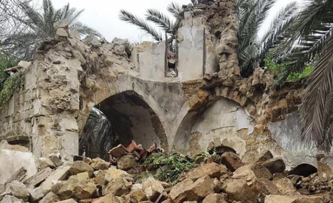 Ara bölgede yıkılan kilisenin akıbetine liderler karar verecek
