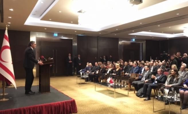 Başbakan Ankara'da Kıbrıslı Türklerle buluştu, önemli mesajlar verdi.