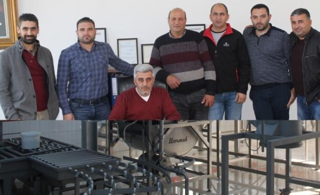 Bir grupsüt üreticisi süt fabrikası kurdu