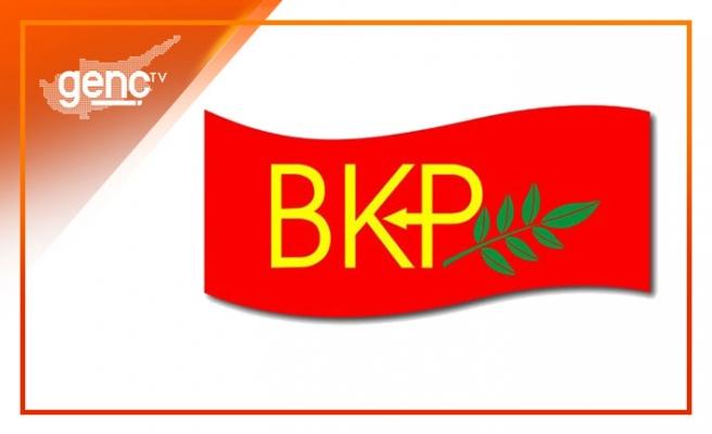 """BKP: """"Cumhurbaşkanı'na yapılan saldırılarda amaç seçimlerde avantaj elde etmek"""""""