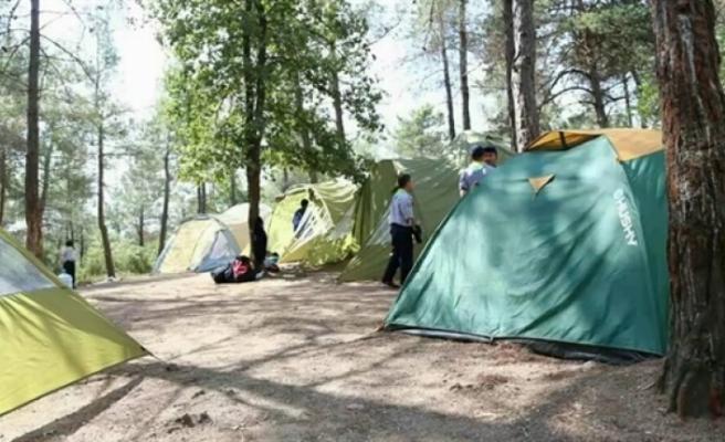 Çadırlı kış kampı gerçekleştirildi