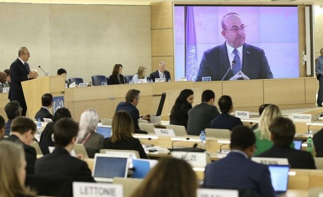 """Çavuşoğlu: """"Yeni müzakere süreci, ancak zihniyetin değişmesinden sonra başlatılabilir"""""""