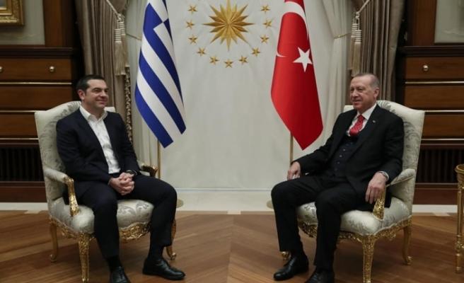 Çipras, Türkiye'de... Erdoğan ile görüştü