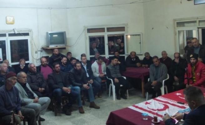 CTP köy toplantılarına devam ediyor