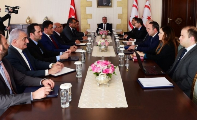 Cumhurbaşkanı Akıncı, Bakanlar Kurulu ve Meclis'i bilgilendirecek