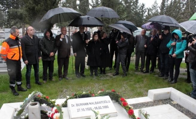 Dr. Burhan Nalbantoğlu 39'uncu ölüm yıl dönümünde anıldı