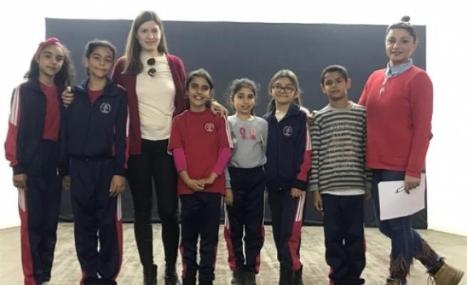 Eğitim projesi Atatürk İlkokulu'nda devam ediyor