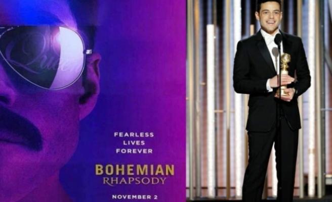 En iyi erkek oyuncu ödülünün sahibi Bohemian Rhapsody filmiyle Rami Malek