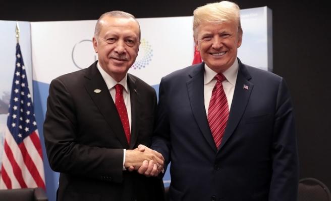 Erdoğan, Trumpile telefonda görüştü