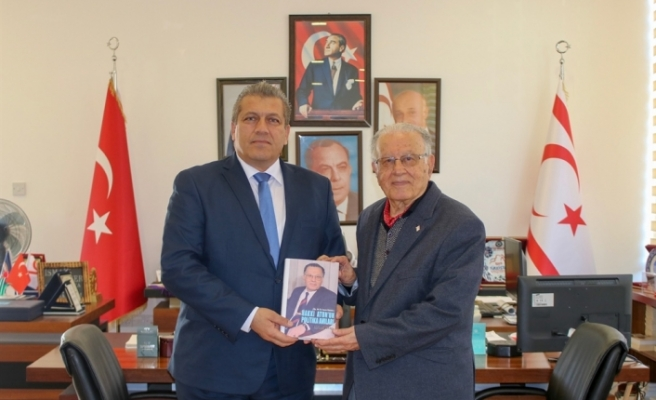 Eski Başbakan, Meclis Başkanı ve Bakanlardan Hakkı Atun bugün  Arter'i ziyaret etti