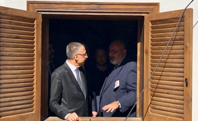Fuat Oktay, Lefkoşa'da Alparslan Türkeş'in doğduğu evi ziyaret etti