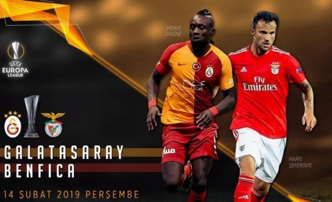 Galatasaray, Benfica'yı ağırlıyor