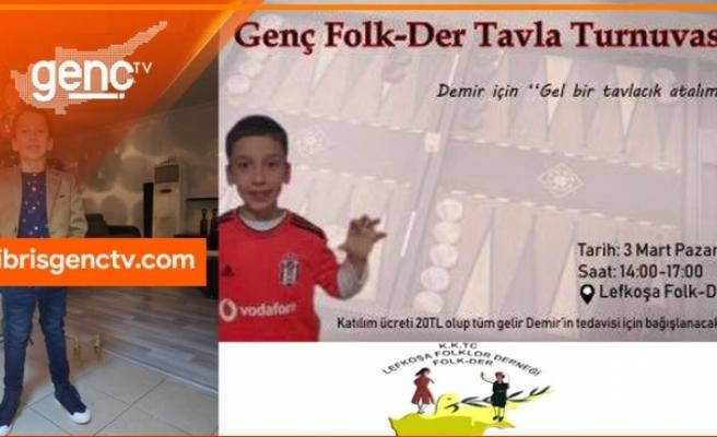 Genç Folk-Der, Demir'in tedavisine katkı için etkinlikler düzenliyor