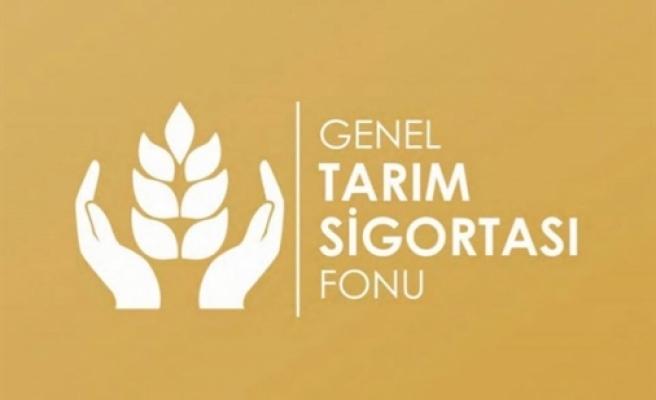Genel Tarım sigortası'na yapılacak beyanlar için son gün yarın