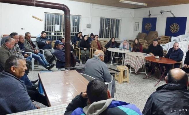 Halkın Partisi Güzelyurt İlçe Başkanlığı köy ziyaretlerine devam ediyor