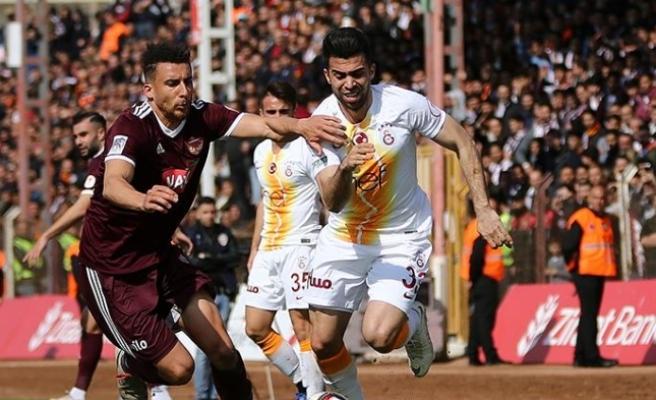 Hatayspor'un müthiş geri dönüşü yetmedi...Galatasaray yarı finalde
